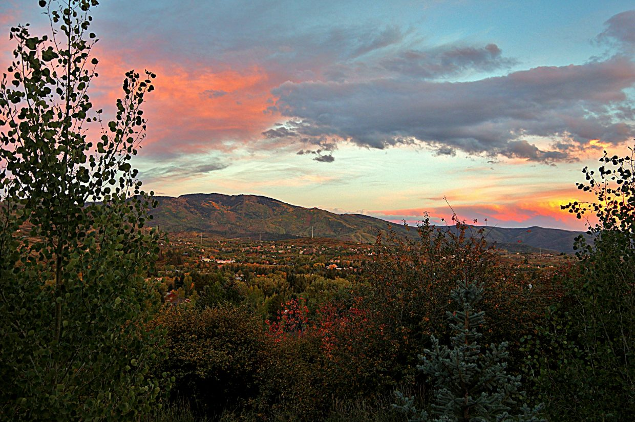 Change... along with the sunset. 9-19-14. Submitted by Matt Helm.