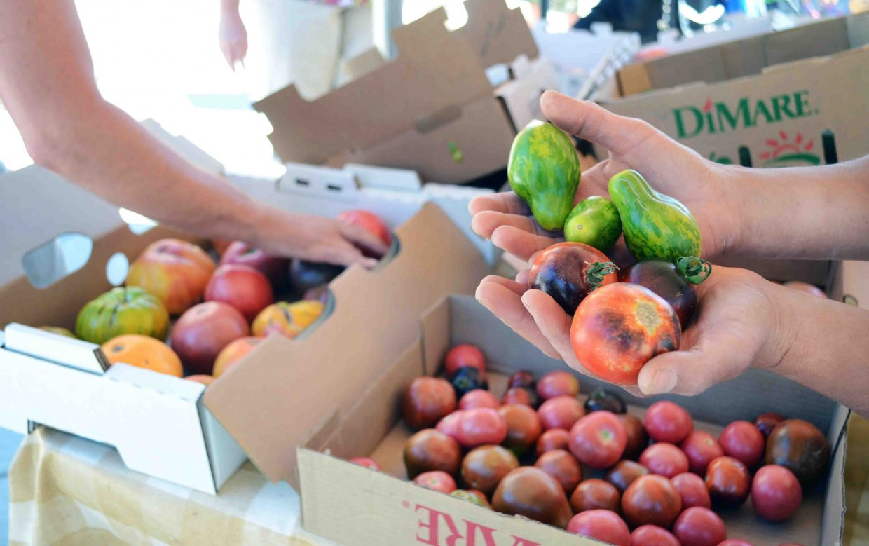 The Farmers Market returns to downtown Steamboat Springs Saturday.