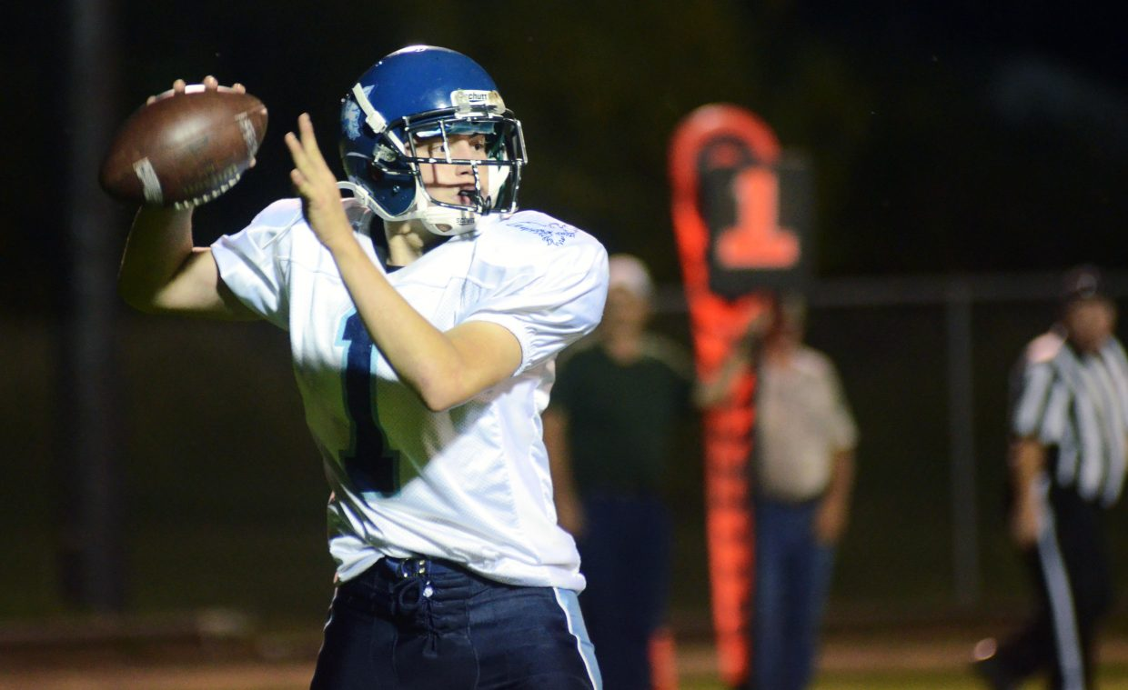 Hayden held Justice quarterback Trae Gomez to just eight completions on 28 attempts Friday night. Gomez scored all three of his team's touchdowns, two through the air and one on the ground.