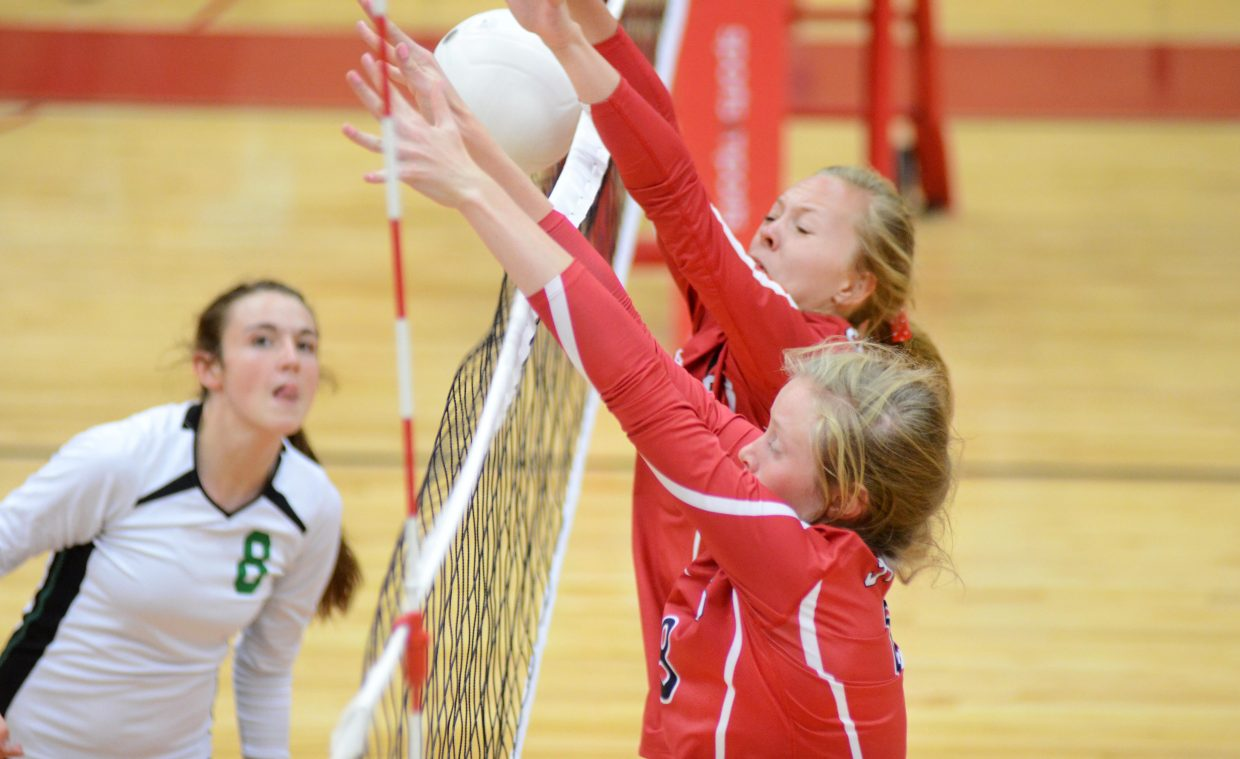 Steamboat Springs' Riley Wilkinson and Erica Yaw helped anchor a Sailors front line that stifled visiting Delta on Saturday.
