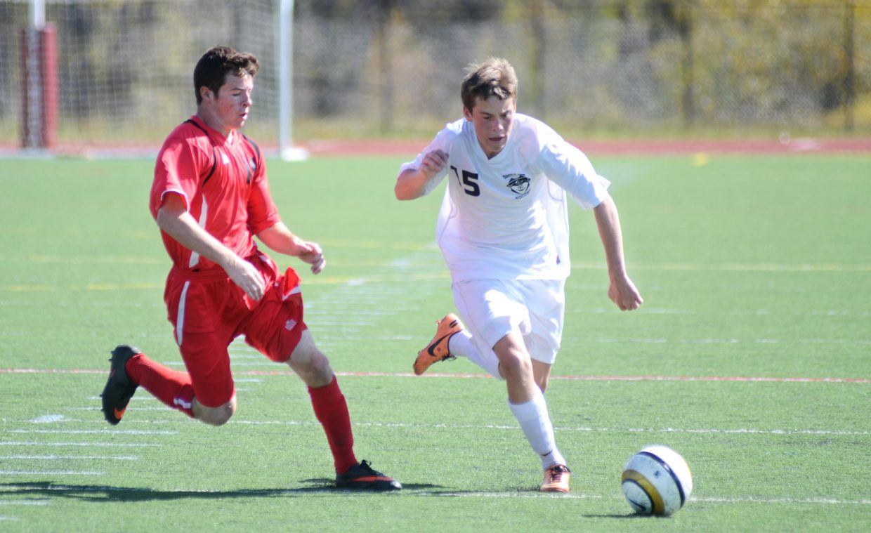 Steamboat Springs junior Jack Salyer netted a hat trick Saturday against Glenwood Springs. The Sailors blew out the Demons, 7-1.