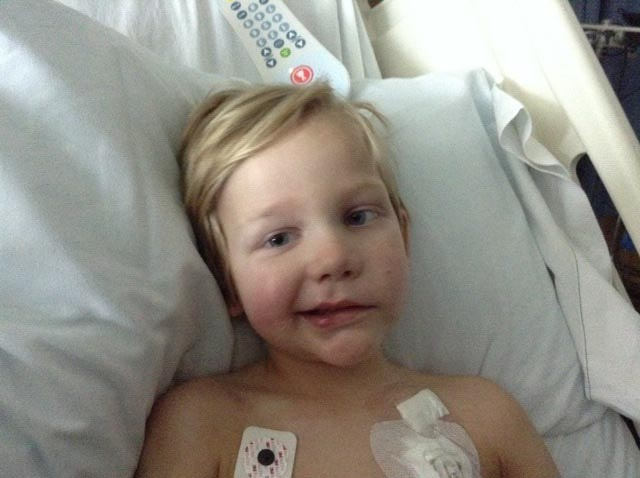 Five-year-old Logan Green has been undergoing a rare proton radiation treatment in San Diego, and his family will be moving him back to his home state of Colorado this weekend.