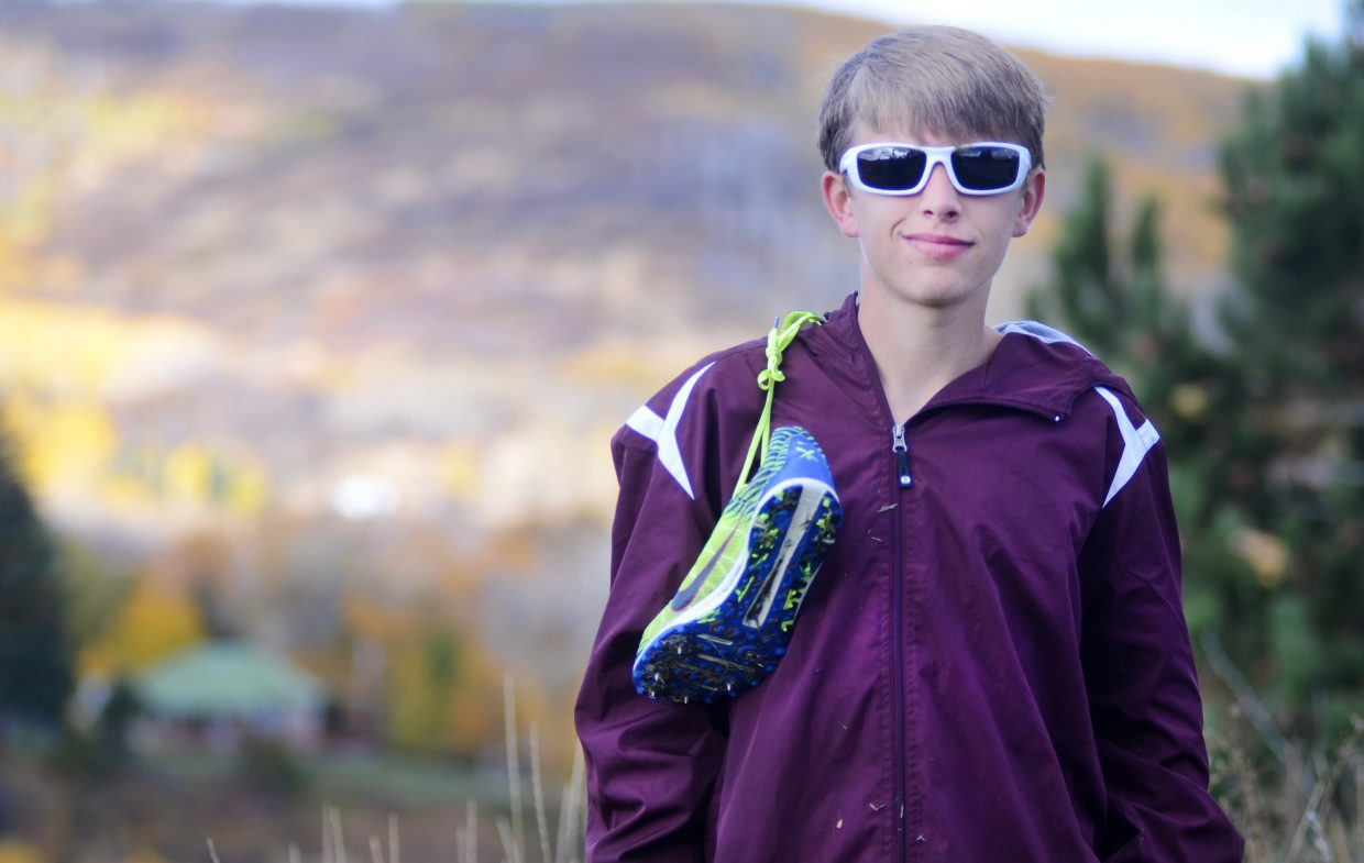 "Just a freshman, Soroco High School's Ben Kelley has been a one-man show in the Rams' inaugural cross country season. As the only boy in the program, he's often the subject of ""You're really the only runner on your team?"" questions at meets, but it doesn't bother him. He has a good shot to advance from this Friday's regional meet into the 2A state race."