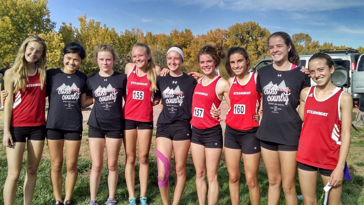 The Steamboat Springs High School girls cross country team took third place overall at Thursday's 4A Region 6 meet. The top four schools from the meet advance to state, so all nine Sailors will be in Colorado Springs next Saturday, the first time the school has been able to say that in many years.