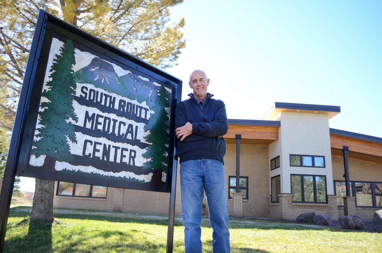 Ken Rogers officially took over as South Routt Medical Center's new manager Oct. 20, bringing in decades of medical and business experience with him.