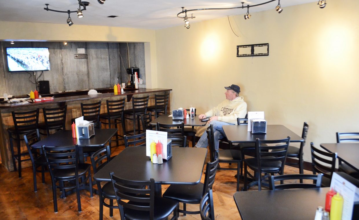 After completely remodeling the former Spostas World Sushi and Salads location at 825 Oak St., Back Door Grill has moved a takeout window burger joint to a much bigger and better spot for operations, owners Dave and Brandi Eliason said.