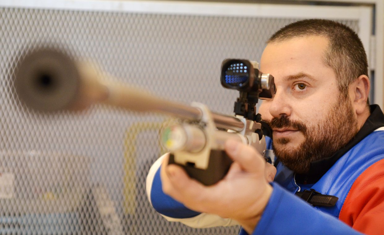 Colorado Mountain College math professor Alex Krolik has spent decades looking through the scope of expensive air rifles as a running target competitor. The Belarus native is hoping to expand his passion for the sport to campus students and the Steamboat Springs community with a newly launched club.