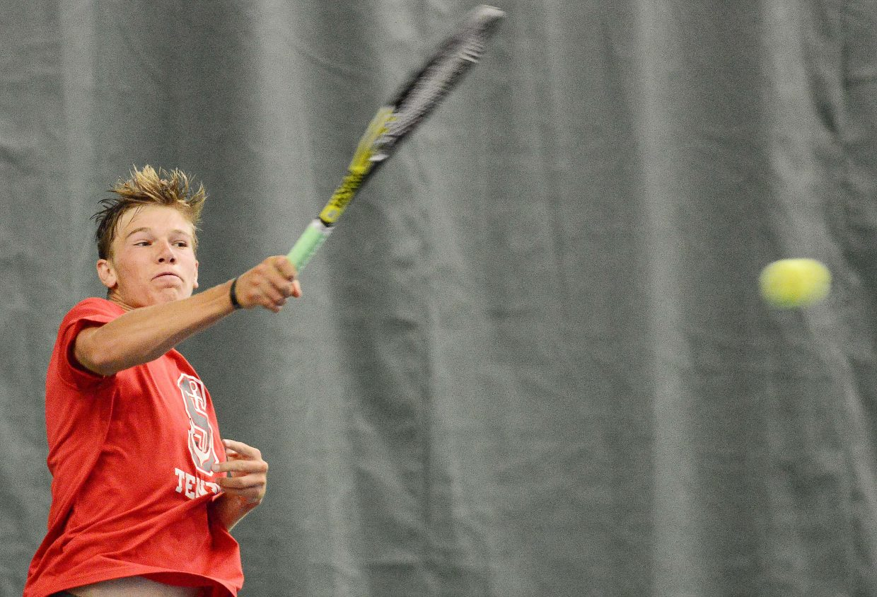 Steamboat Springs junior Britt Walton was a two-sport star this fall, qualifying for the state championships in both golf and tennis.