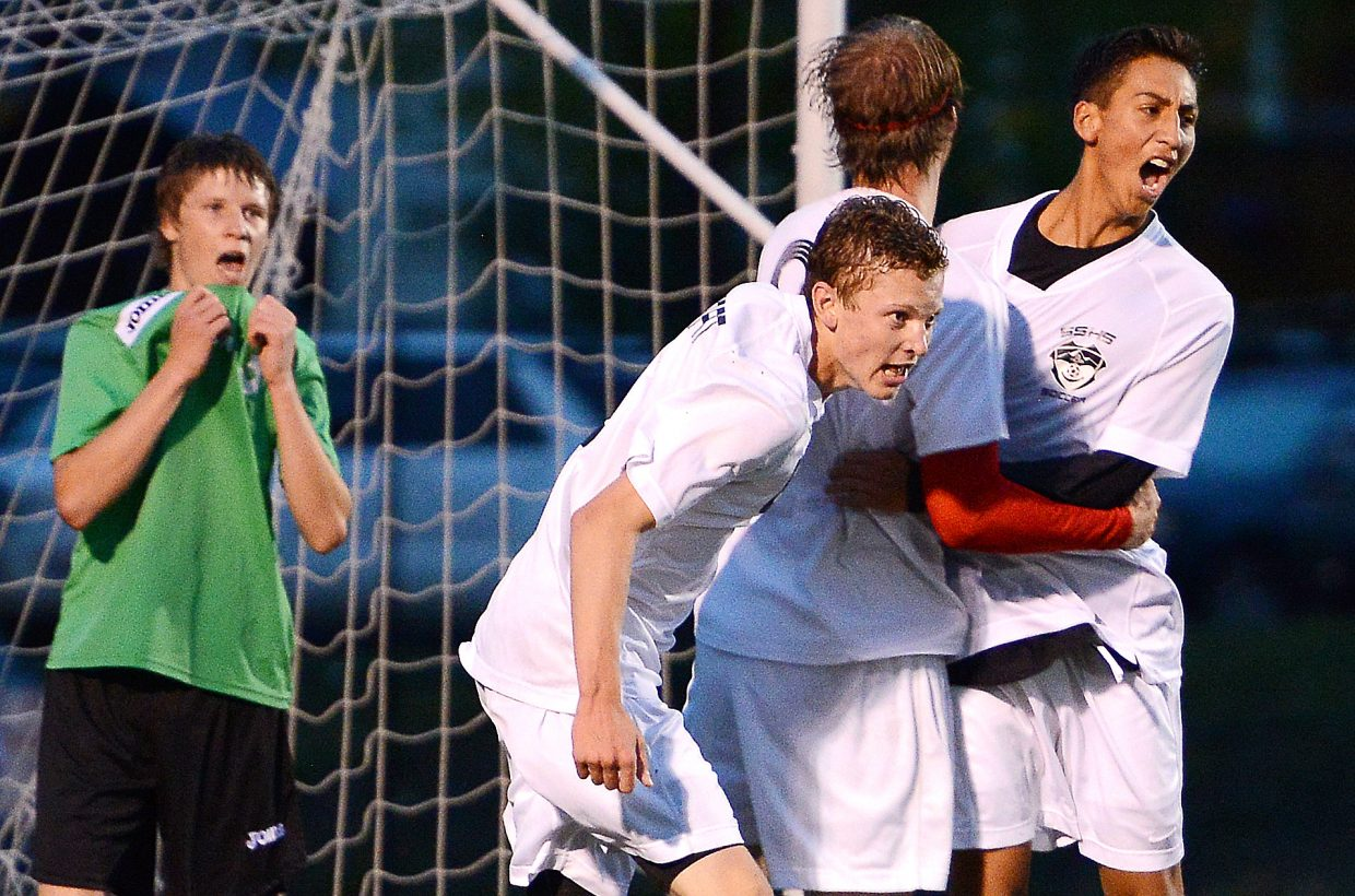 The Steamboat Springs High School boys soccer team was so close to knocking off league champion Summit at home Sept. 9. The Sailors settled for a 2-2 tie, while the Tigers went on to advance to the 4A state championship quarterfinals.