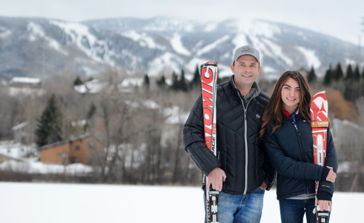 Steamboat Adaptive Recreational Sports developmental racing coach Tommy Moore helped Steamboat Springs High School freshman Paige VanArsdale learn to love competitive skiing. VanArsdale was diagnosed with cerebral palsy before she turned 2, and multiple surgeries later, she is back on the slopes.