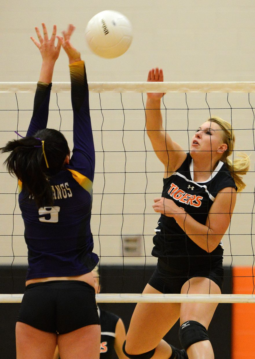 Jordan Temple has been the backbone of the Hayden Tigers volleyball program since she was a freshman, and for the second straight year she was named to the 2A Western Slope League first team.