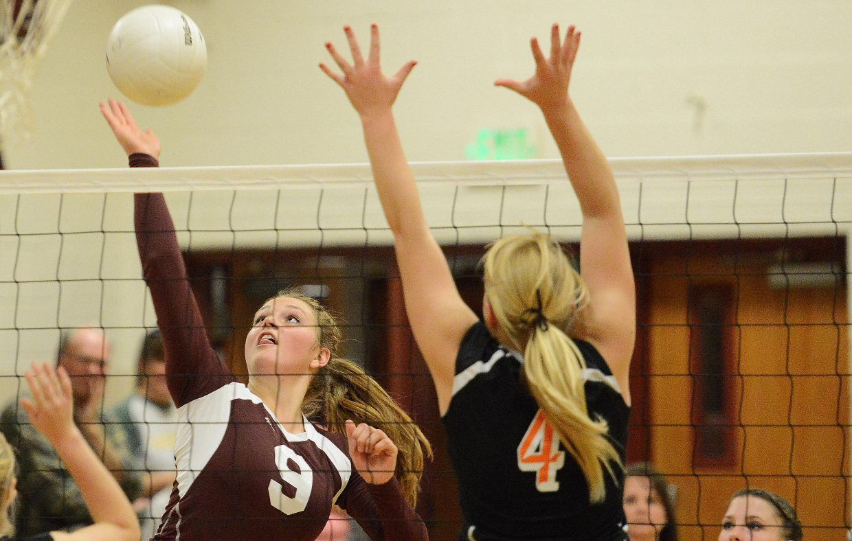 Soroco senior Jessica Rossi helped a resurgent Rams program to 11 wins in 2014. Rossi was named to the 2A Western Slope League first team.