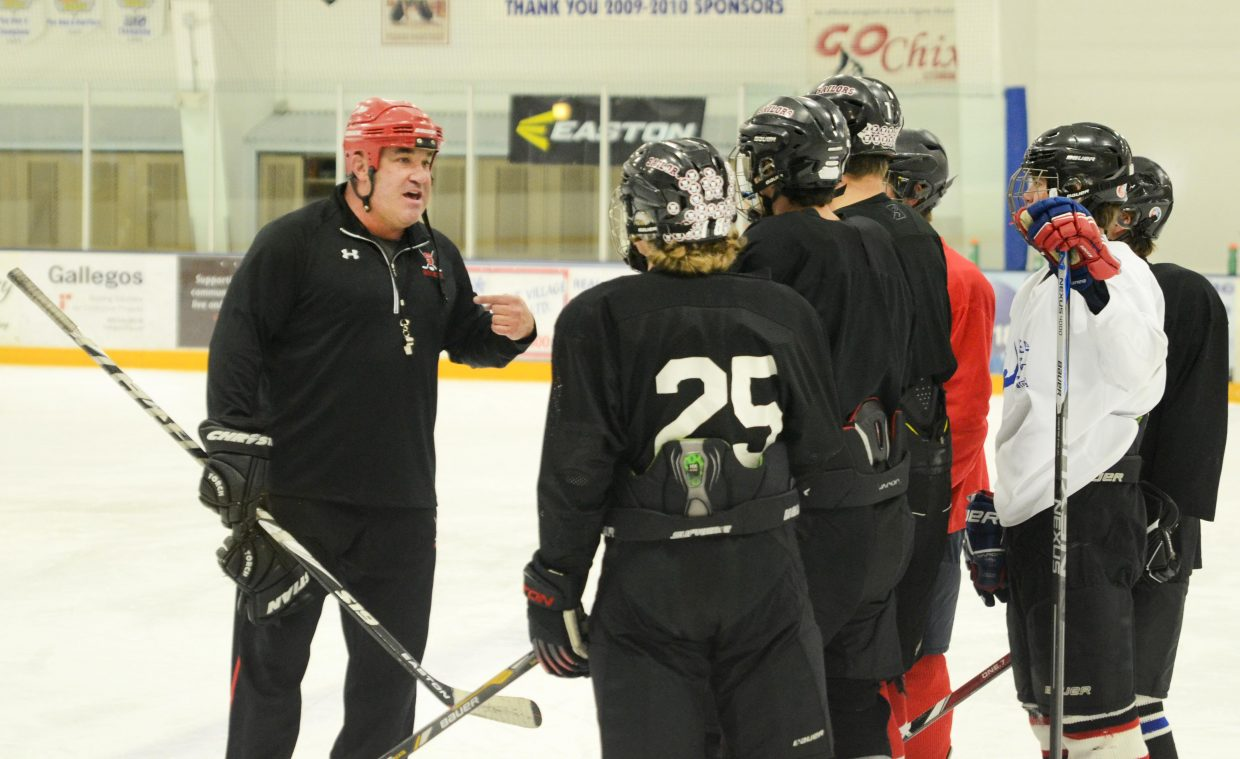 Former Steamboat Springs High School hockey assistant coach Chris Campanelli took over the Sailors program this season, a decision he called a no-brainer. Campanelli inherits a young but hungry squad that opens the season Dec. 2 at Aspen.