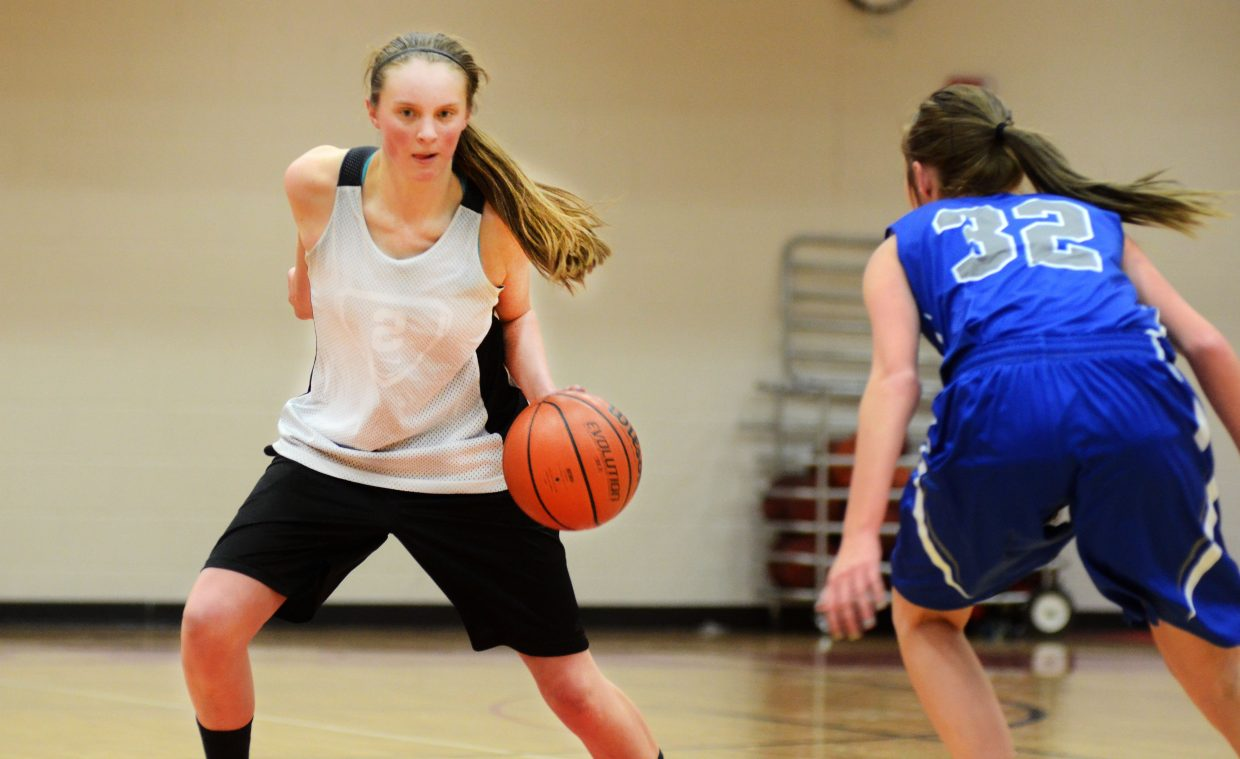 Steamboat Springs High School junior Annie Osbourn is the Sailors' most experienced player heading into 2014-15. Second-year coach Mack Spitellie will lean on Osbourn to bring along a relatively inexperienced roster.
