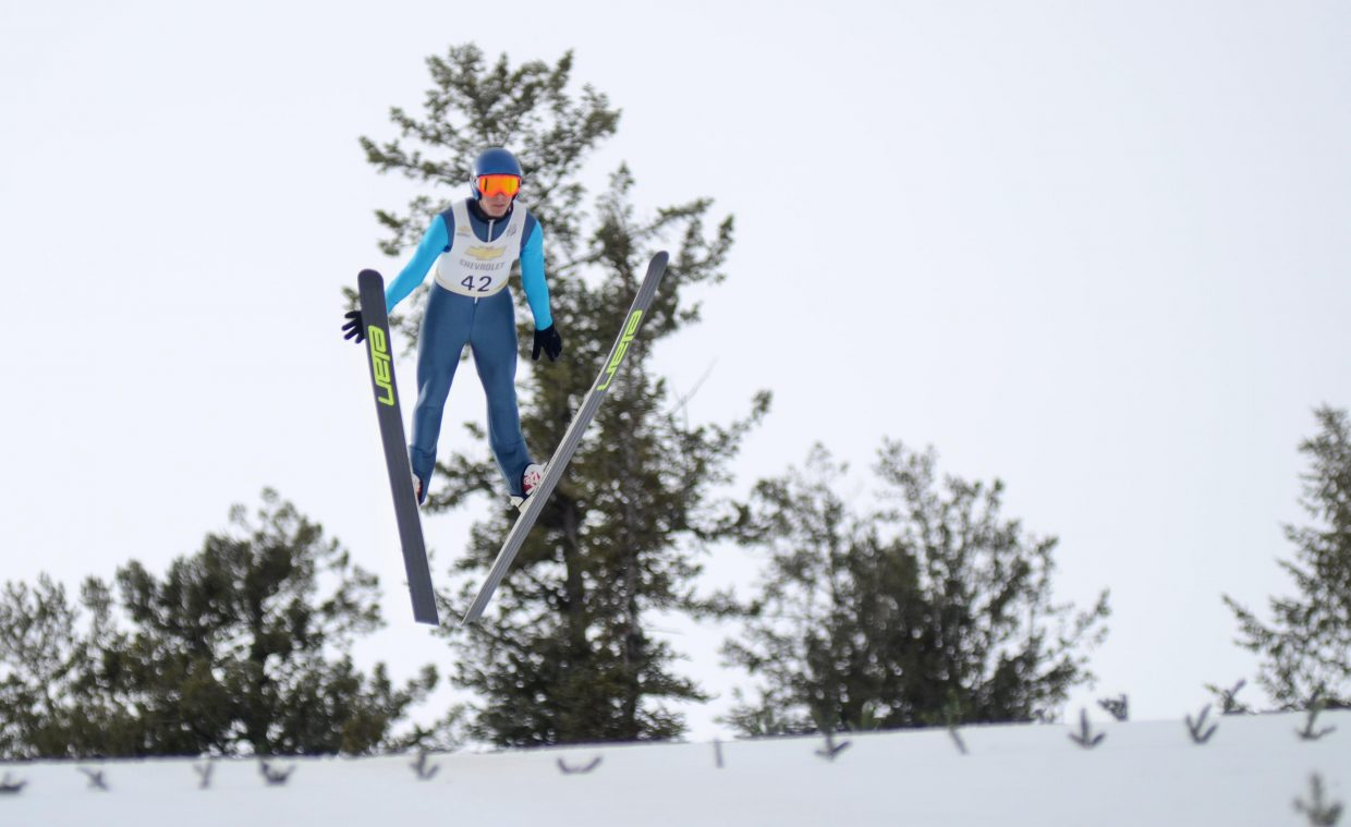 Steamboat Springs Winter Sports Club-bred Ben Berend took his first ski jumps this week after offseason ankle surgery. The nagging three-month-long injury made the 19-year-old question whether he could make a full comeback or not, but things are full go for the upcoming season, he said, and he couldn't be more grateful.