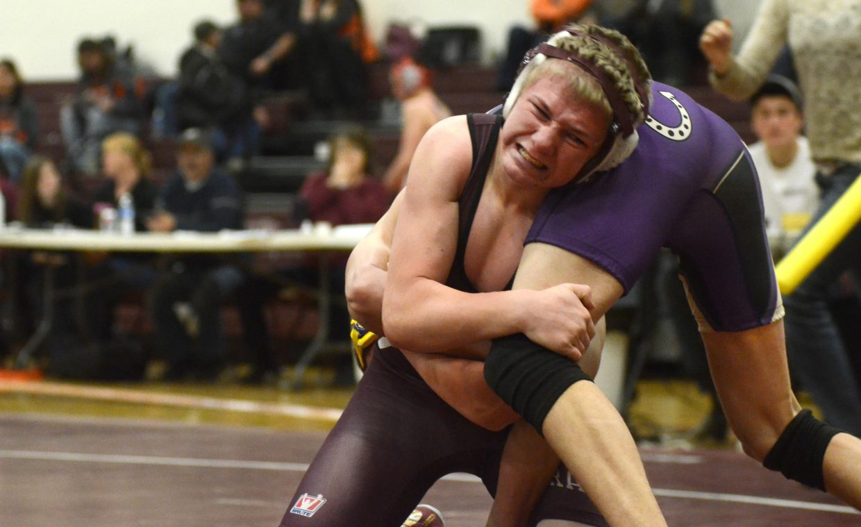 Soroco's Dalton Ray couldn't overcome a Round 3 pin from West Grand's Antionia Corrales.