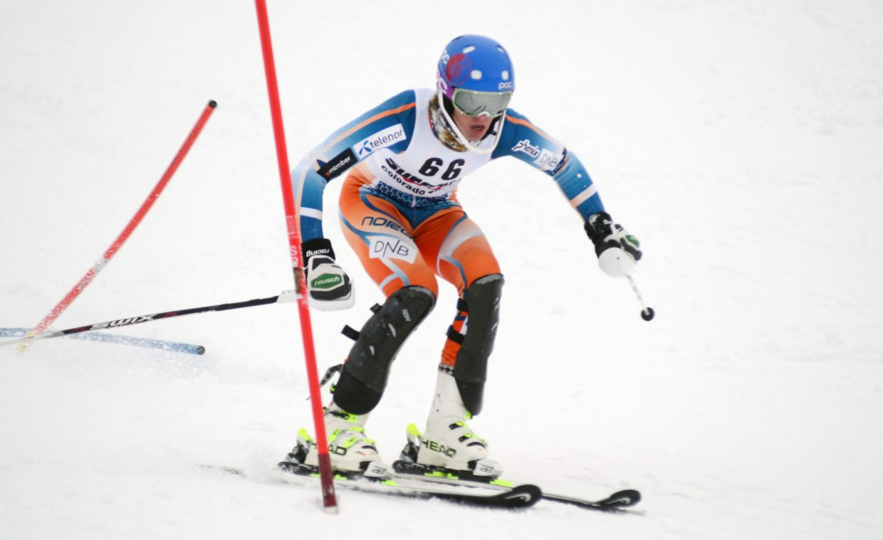 Steamboat Springs Winter Sports Club's Nate Bowman finished 40th at Sunday's Holiday Classic.