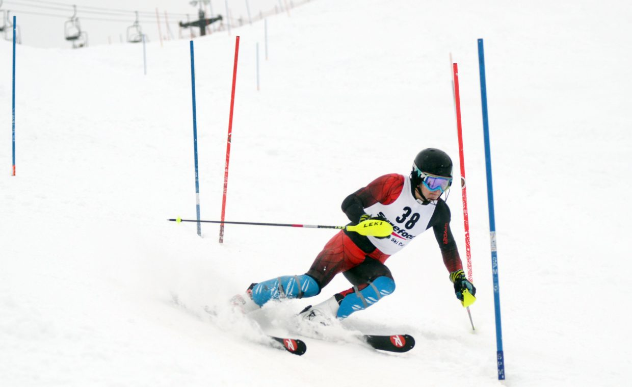 Steamboat Springs Winter Sports Club's Nicolas Veth won Saturday's National Junior Race and was 31st in Sunday's Holiday Classic.