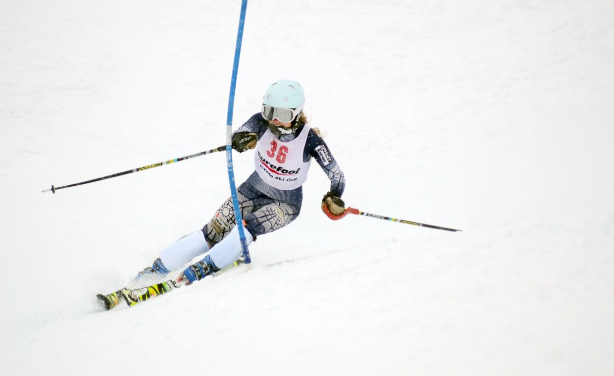 Steamboat Springs Winter Sports Club skier Sara Gezon finished 23rd in Sunday's Holiday Classic.