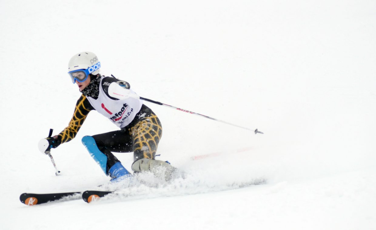 Former Steamboat Springs Winter Sports Club athlete and current Colorado Buffalo Shane McLean took fifth in Sunday's Holiday Classic race. It's probably her last competitive race at Howelsen, she said, and she made the most of the experience.