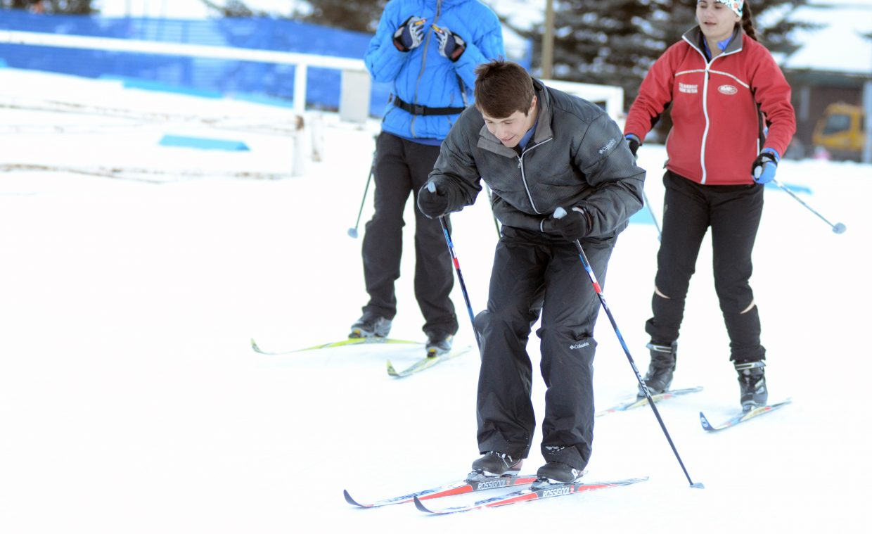 Soroco High School senior Micah Gibbons made his competitive skiing debut last season as part of Steamboat Springs High School's Alpine team. This winter, he's trying Nordic skiing for the first time in his life with strong results. He has already qualified to compete in next month's state championship.