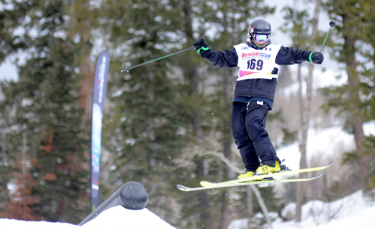 Steamboat Springs' Kai Doyle finished second in the men's 13-15 division behind teammate Payton McElhiney Sunday.