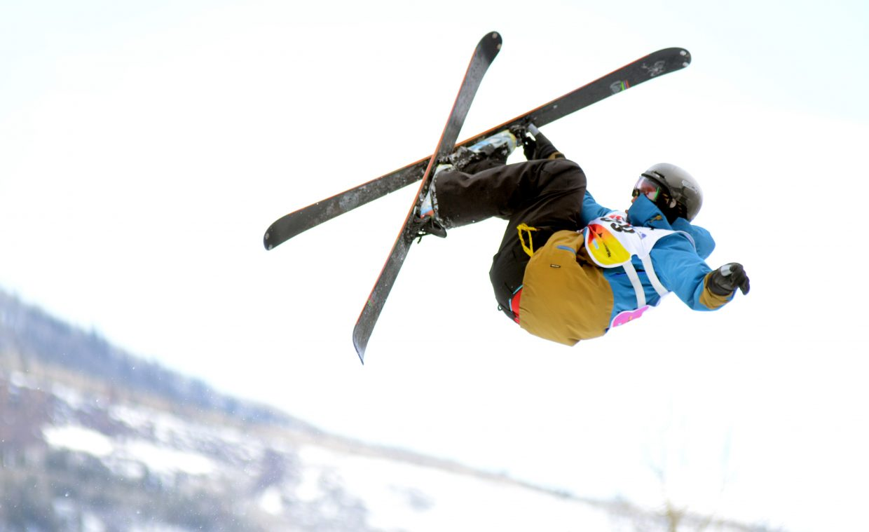 Steamboat Springs' Ethan Dyer finished 18th in the men's 13-15 division.