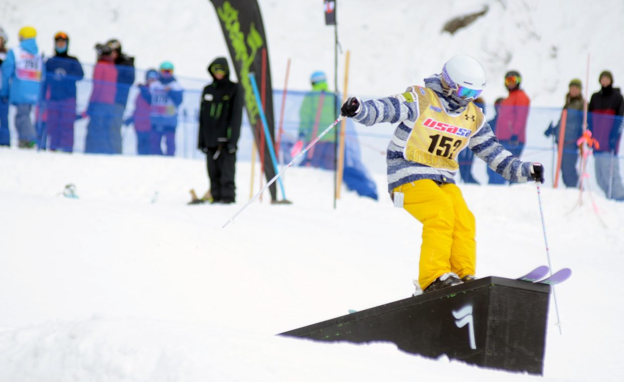 Steamboat Springs' Josie Seibel was the top finisher in the women's 16-18 division.