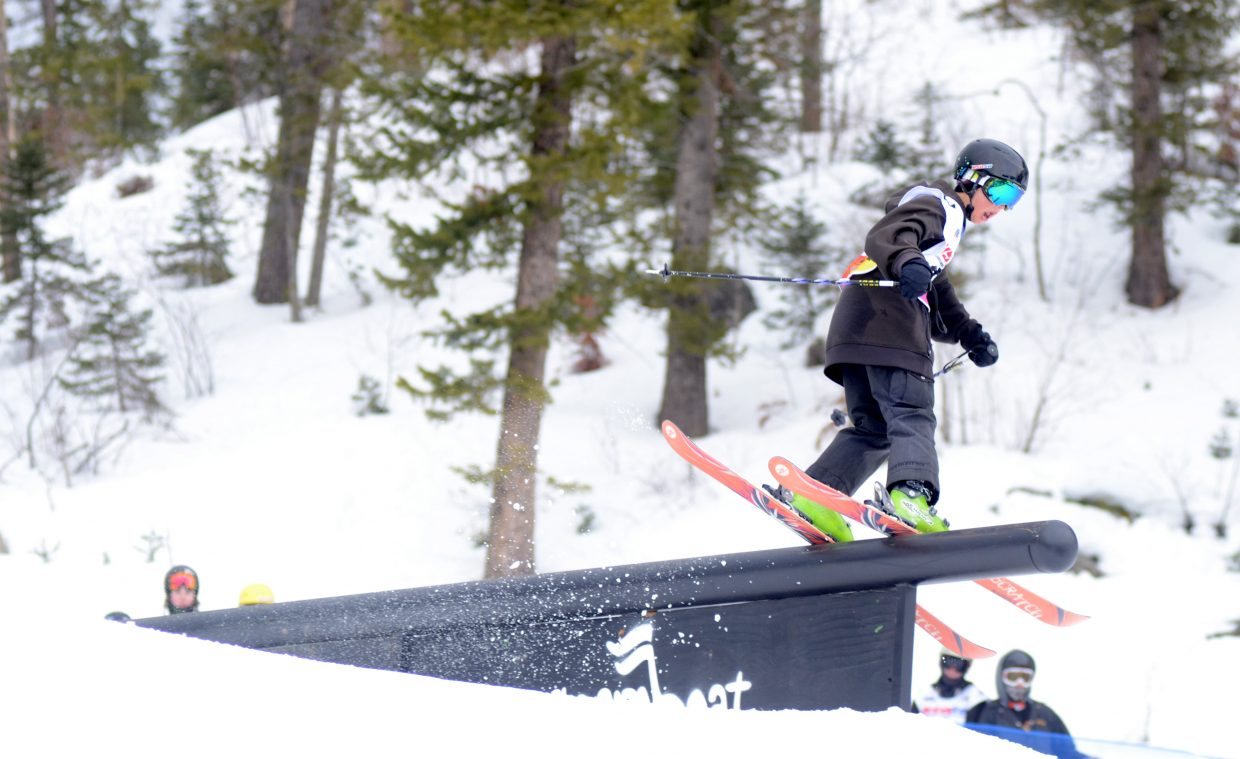 Steamboat Springs' Bryce Zetzman was 24th in the men's 13-15 age division.