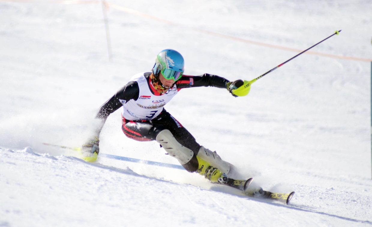 Ski Club Vail's Colby Lange won Saturday's slalom and finished as the top overall racer in the boys U16 Rocky Mountain/Central Division Alpine Championships.