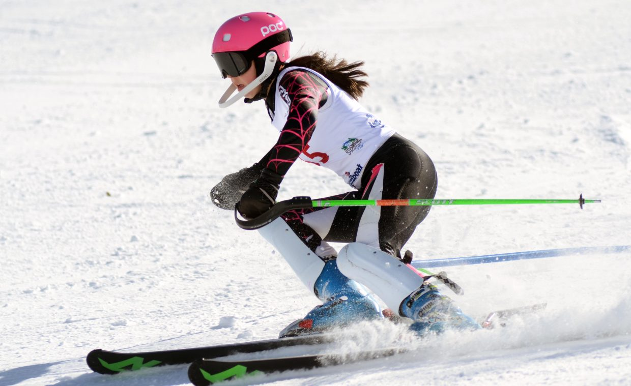 Steamboat's Mackenzie Ward took 36th in Saturday's girls U16 Alpine Championships slalom.