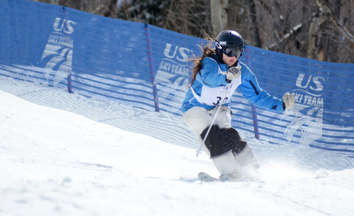 At 17 years old, Vail's Anna Park was one of the youngest to make the 16-skier field for Friday's U.S. Freestyle Championships women's moguls finals.