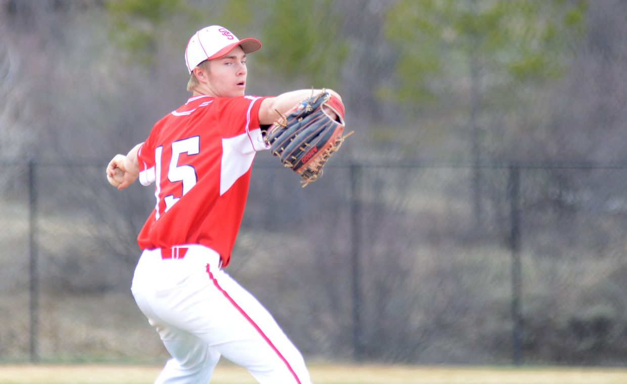 Steamboat Springs senior lefty Billy Clark had a solid start to Saturday's doubleheader Game 2 versus Glenwood Springs, but the Sailors ultimately fell, 10-0.