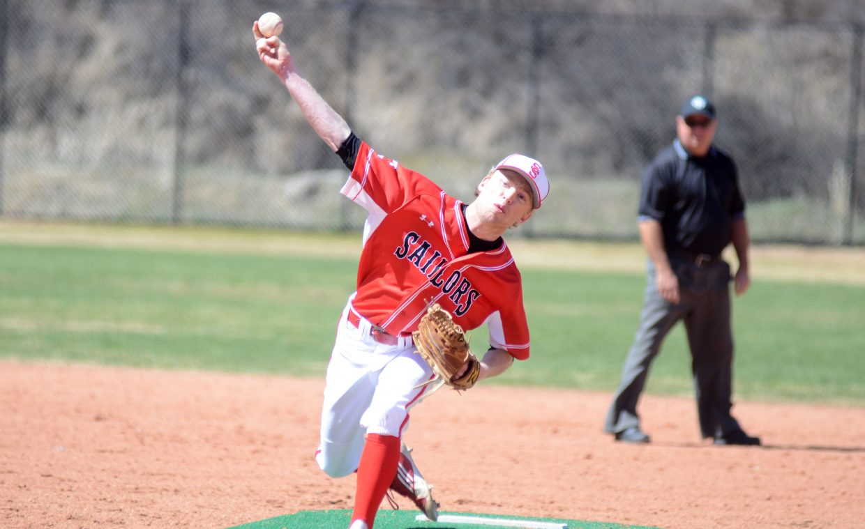 Steamboat Springs senior pitcher Jesse Pugh was stellar in the Sailors' lone home games of the season Saturday. Pugh tossed seven scoreless innings and didn't allow a single hit to go for extra bases in a 3-0 win against Glenwood Springs.