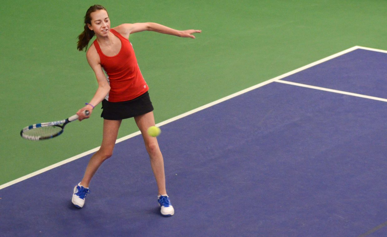 Steamboat Springs High School freshman Tatum Burger heads into the 4A Region 8 tournament as one of the favorites in her No. 1 singles bracket. As a team, the Sailors have won 12 state regional championships.