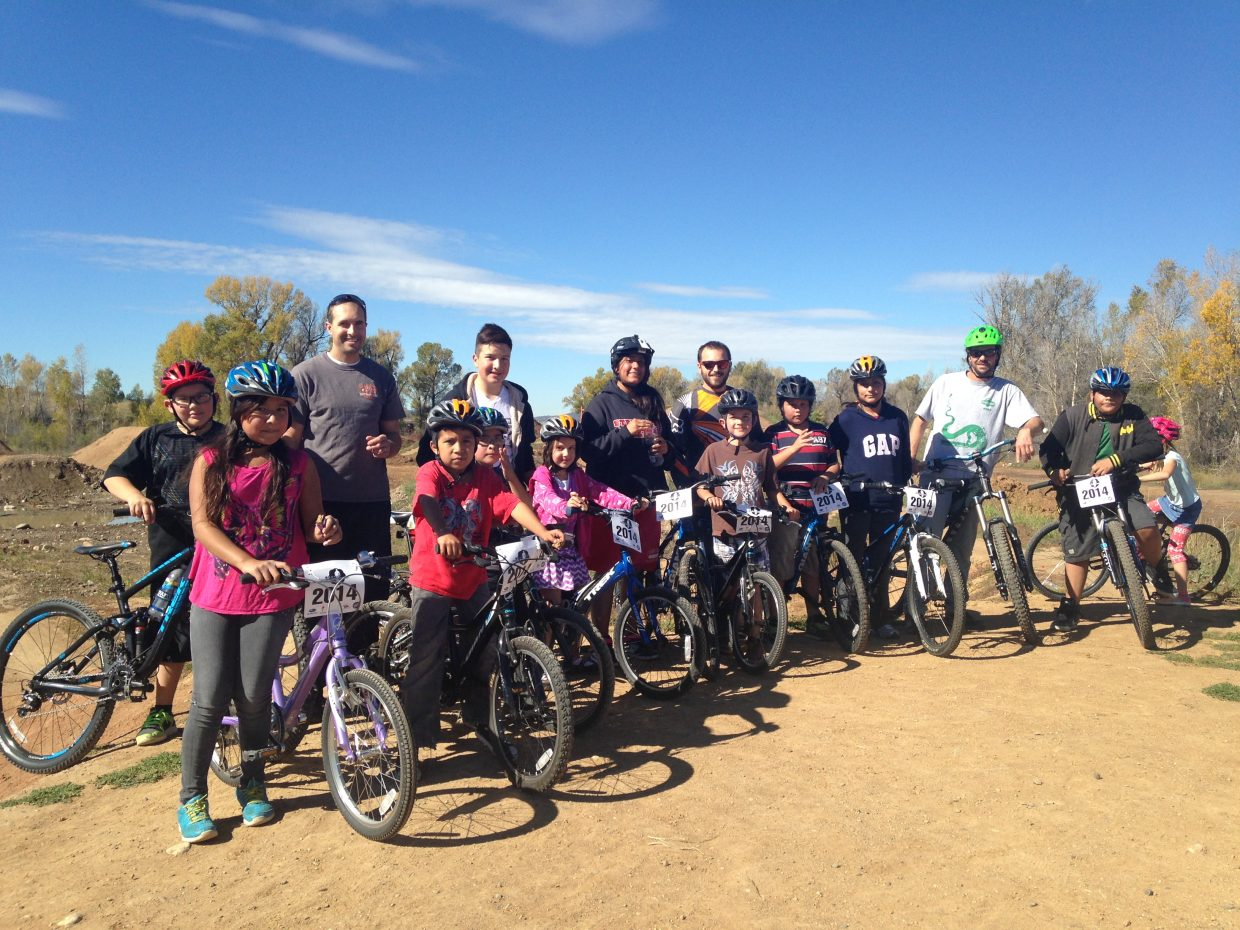 Routt County Riders, Bike Town USA and Steamboat Ski & Bike Kare teamed up with kids from Partners in Routt County for IMBA's Take a Kid Mountain Biking Day on October 4. Submitted by: Becky Slamal