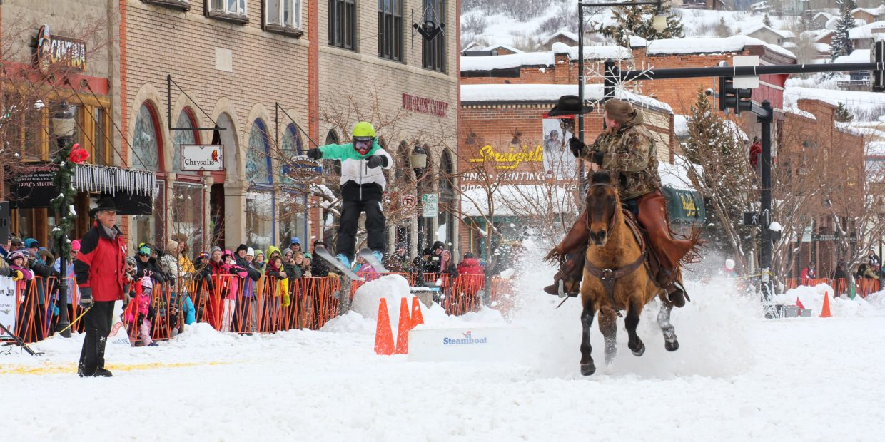 Street events at the 101st Winter Carnival. Submitted by: John MacArthur