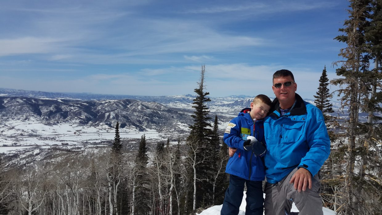 Cris French and Tyler French. Father-son day. Submitted by Cris French.