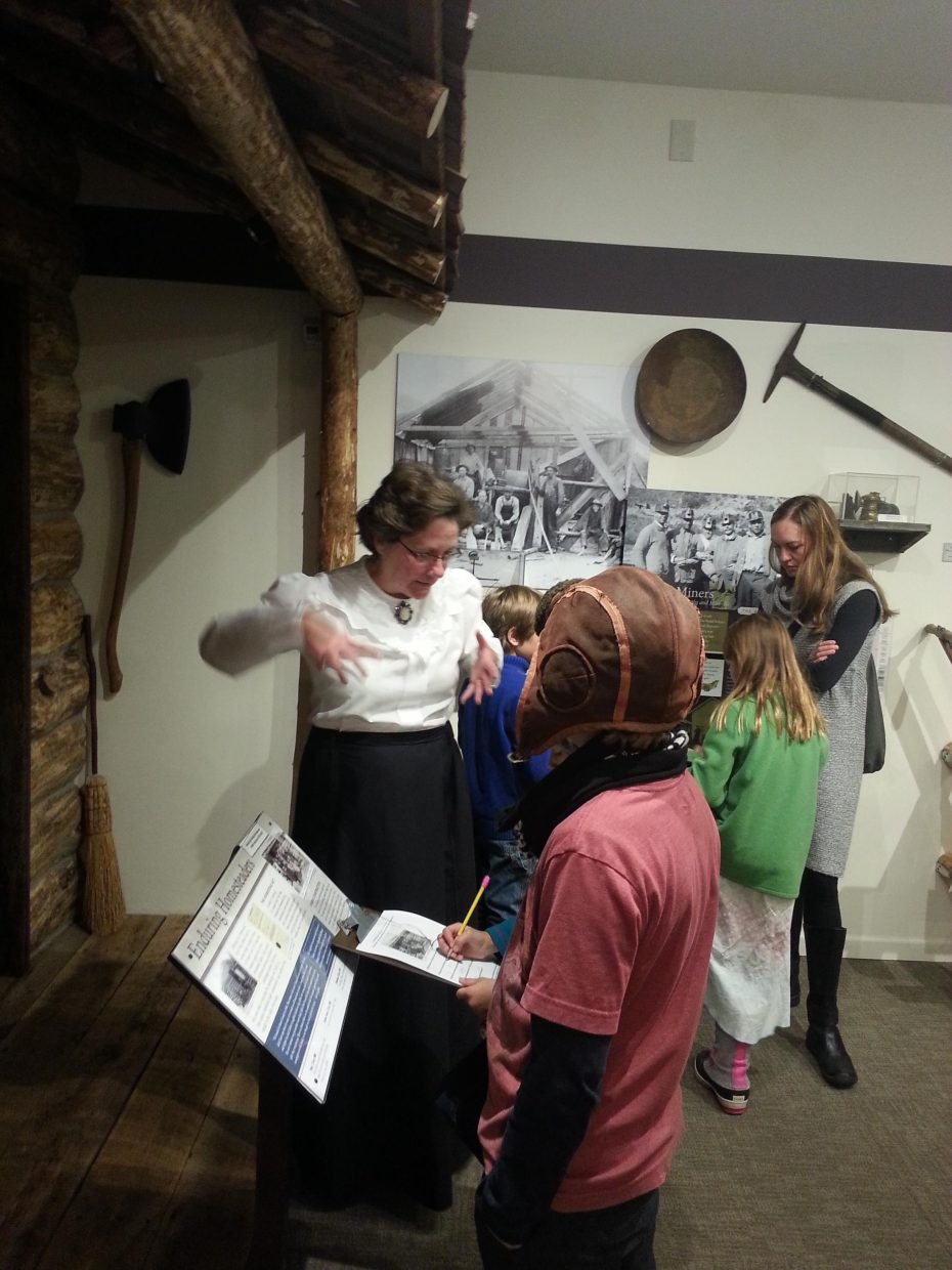 """""""Soda creek elementary 3rd graders at the Tread of Pioneers Museum last week."""" Submitted by Candice Lombardo."""
