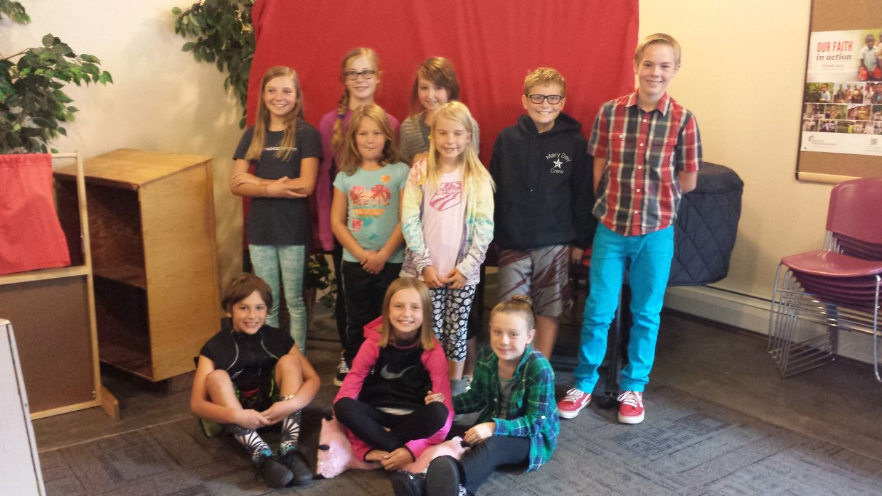 Emerald Mountain School in Steamboat Springs elected its 2016-17 Student Council last week. In the front row, from left, are: Koen Stroock, representative; Josie Hermacinski, secretary of school history; and Scarlet Pepin, representative. Middle row: Victoria Hagar and Ava Thorp, representatives. Back row: Tinsley Wilkinson, secretary of special events; Eva Hermacinski, administrative secretary; Ella Stroock, secretary of school culture; Shea Pepin, representative; and Finn Dresen, president. The school models its Student Council loosely on the idea of a president and supporting cabinet members. Middle school students run for cabinet positions rather than being appointed by the president. Students also run to be representatives of their classes. In addition to students learning about government in a very experiential manner, they also practice their public speaking skills as they make campaign speeches.