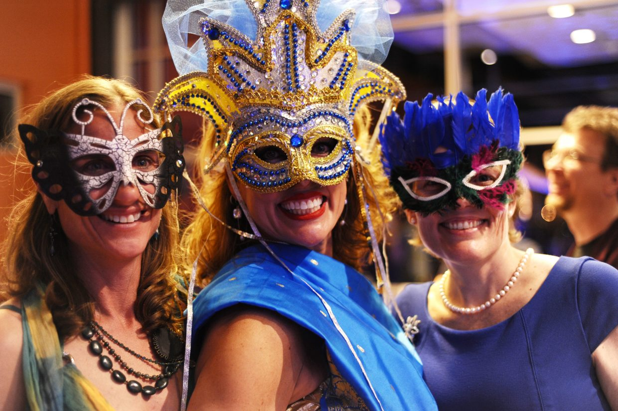 Attendees take part in the Yampa Valley Autism Program's 2016 Masquerade Ball. The annual event returns April 1.