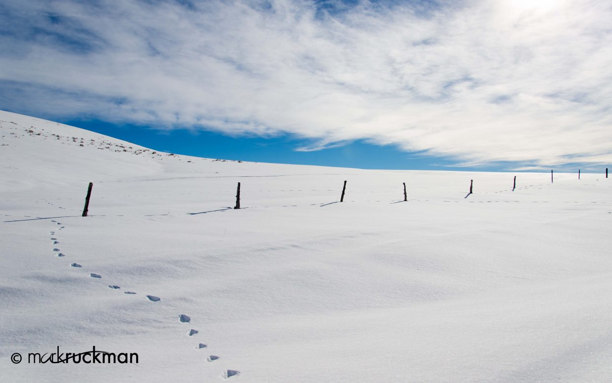 Views from Western Routt County on Friday. Submitted by: Mark Ruckman