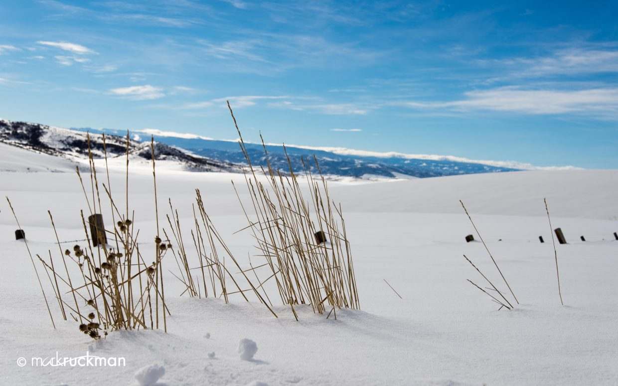 Bluebird day. Submitted by: Mark Ruckman