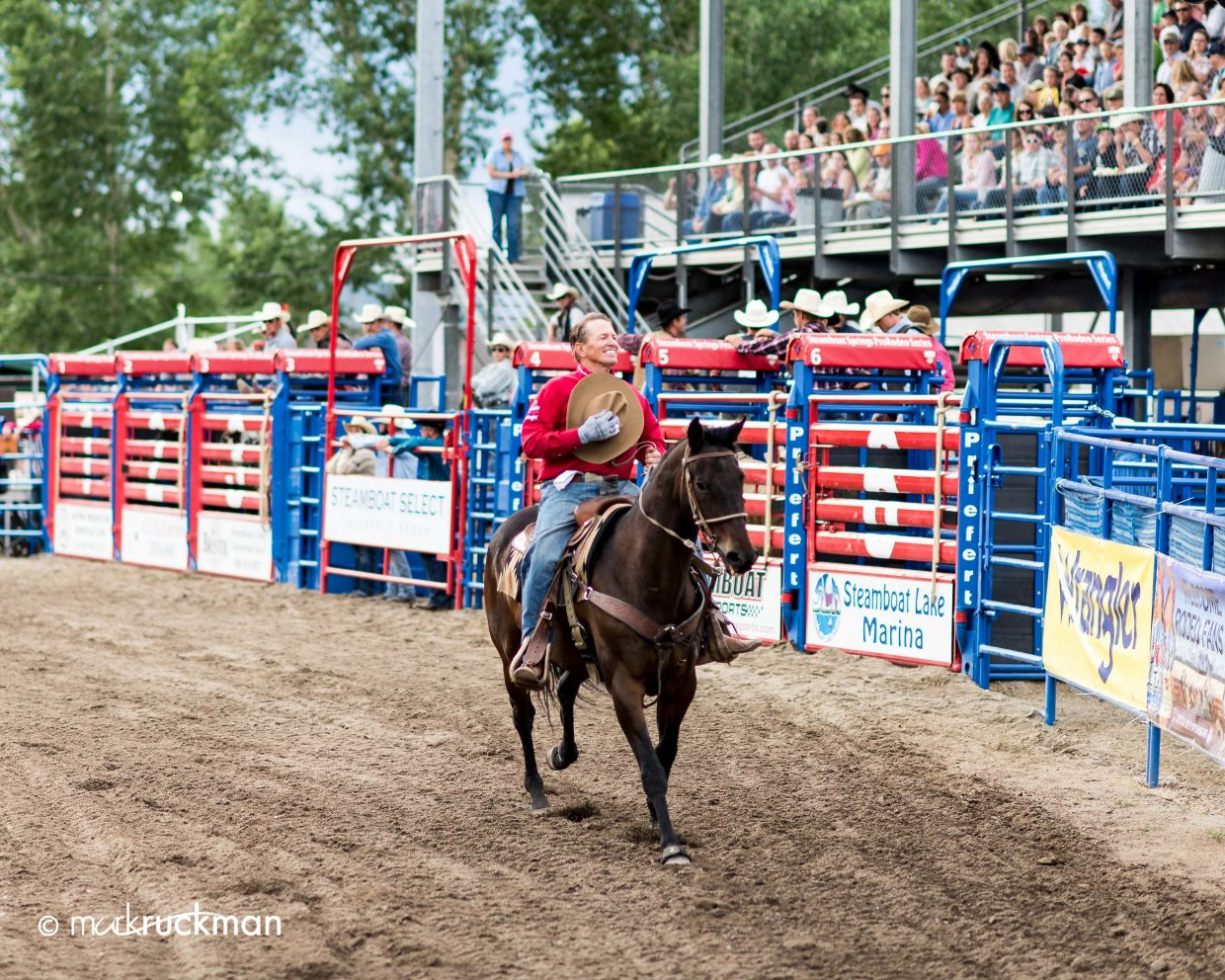 Saturday's rodeo. Submitted by: Mark Ruckman