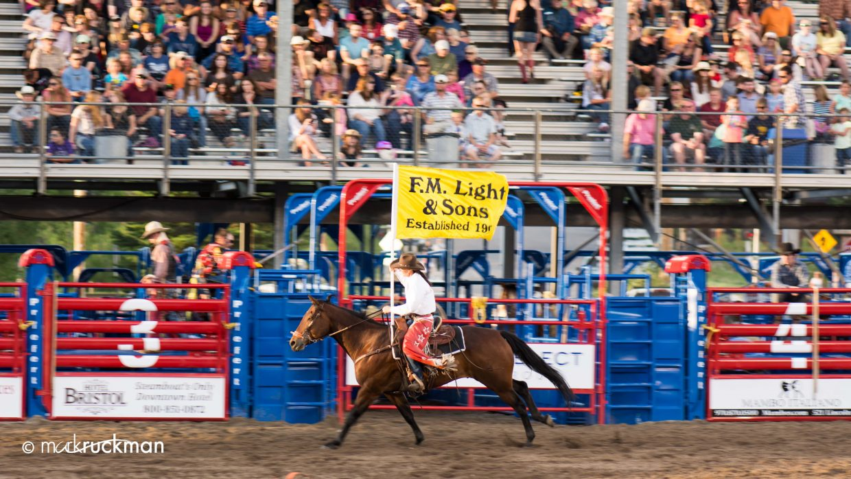 Some of the action from Friday night kicking off the 2014 Rodeo reason. Submitted by: Mark Ruckman