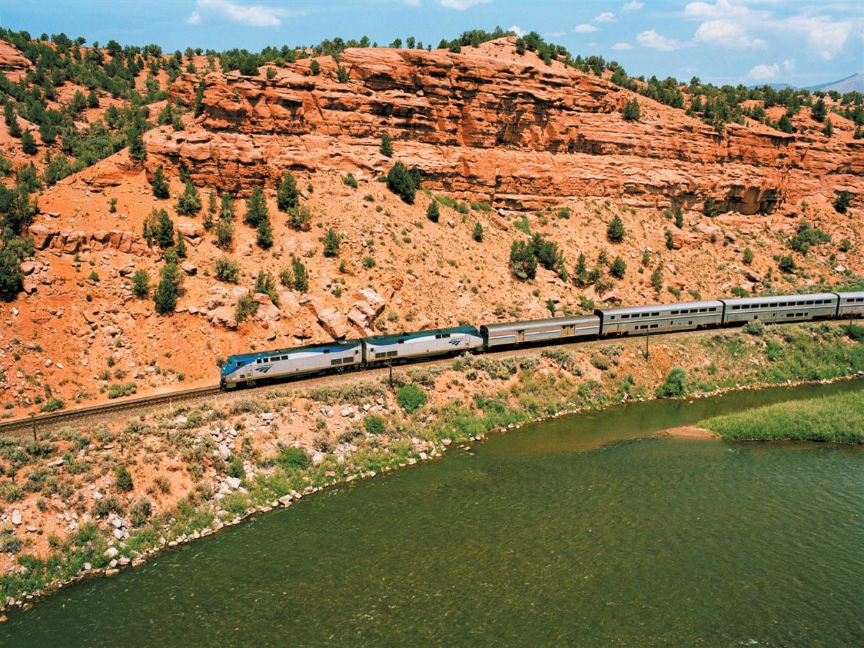 California Zephyr covers ground.