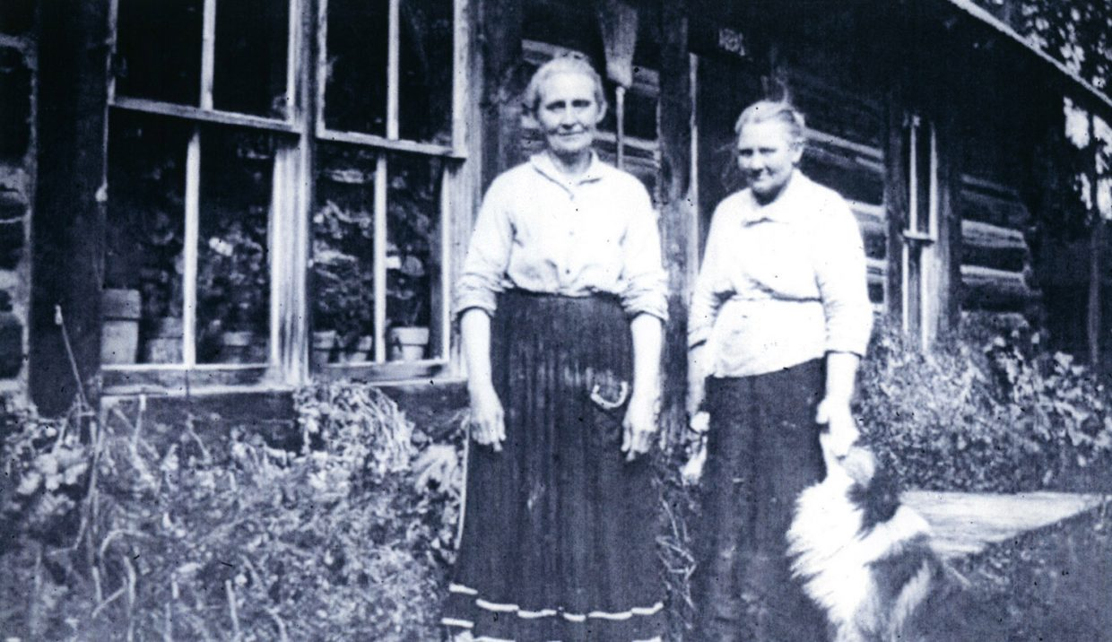 """Dave Lively's presentation """"Sisters of Courage"""" at 7 p.m. Tuesday at the Bud Werner Memorial Library chronicles pioneer sisters Annie and Kittie Harbison's experiences during the development of Rocky Mountain National Park."""