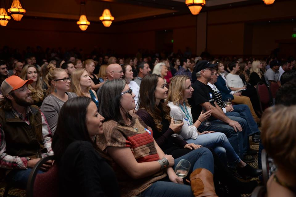 The audience enjoys the 2016 Best of the Boat awards celebration.