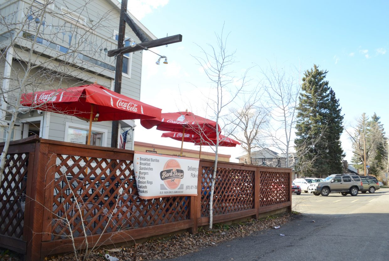 With a new location that has both patio and indoor seating, Back Door Grill has expanded as a burger joint tremendously since originally opening early this summer. Formerly Spostas World Sushi and Salads, the 825 Oak St. location is now inhabited by Back Door, and an expanded menu is in the works.