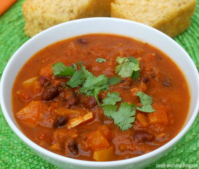 This week Tera Johnson-Swartz shares a chili recipe that offers the timeless flavor many love, but with numbers health benefits.